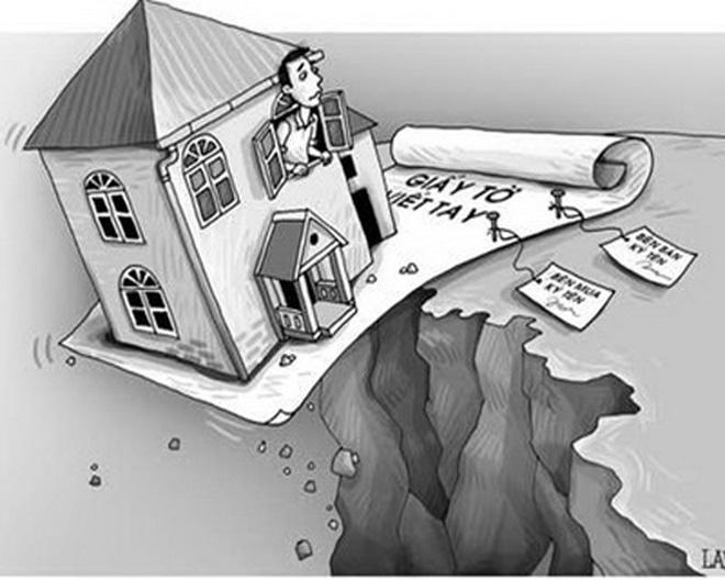 Tranh chấp khi mua đất bằng giấy viết tay ?