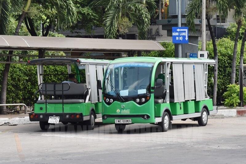 Đề xuất mở xe bus diện nối phà biển Cần Giờ - Vùng Tàu