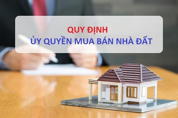 Thủ tục ủy quyền mua bán nhà đất Cần Giờ