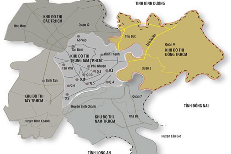 TP.HCM: Bất động sản phía Đông