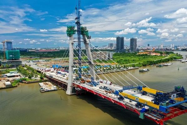 TP.HCM đề xuất đặt tên 4 cây cầu bắc qua Thủ Thiêm
