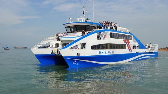 Tuyến phà biển Cần Giờ - Vũng Tàu chính thức hoạt động làm đẩy giá đất Cần Giờ tăng cao